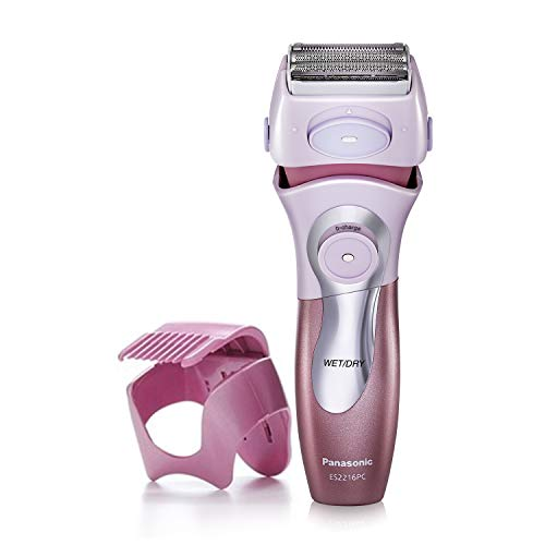 Panasonic Electric Shaver for Women, Cordless 4 Blade Razor, Close Curves, Bikini Attachment, Pop-Up...