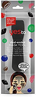 Yes To Dual-Ended Facial Mask Tool - 1 Count   Mask Applicator Tool That Makes Masking Mess Free & Easy to Use
