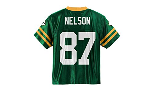 Jordy Nelson Green Bay Packers Green Home Player Jersey Kids (Kids 4)