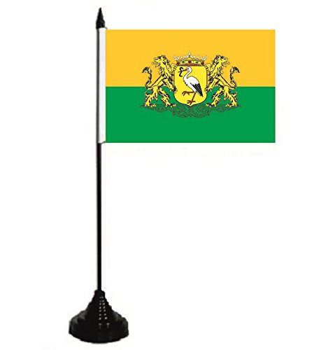U24 tafelvlag Der Haag vlag vlag tafelvlag 10 x 15 cm