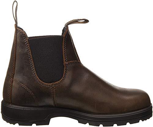Blundstone Unisex-Erwachsene Classic 550 Series Chelsea-Stiefel, Antikes Braun, 38 EU