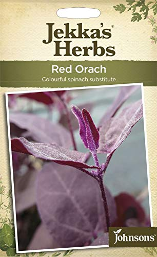 Portal Cool Johnsons - Jekka'S Herbes - Paquet Pictorial - Rouge arroche - 125 graines