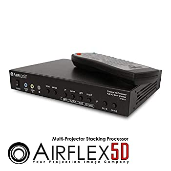 Elite Screens Inc Airflex5D Full HD Dual Channel Passive 3D Processor AF5D-21