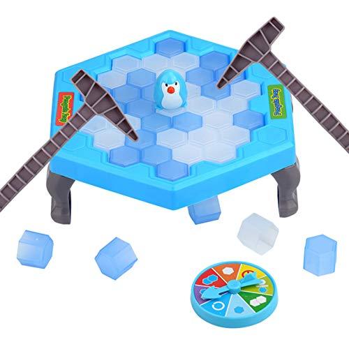 ZECAN Penguin Trap, Rescue Penguin Creative Puzzle Board Game, Trap Ice Breaker Challenge, Juguete Interactivo Entre Padres e Hijos, 2-4 Jugadores