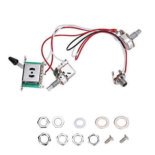 Cableado de interruptor profesional A500K para guitarra eléctrica para cualquier técnico de guitarra