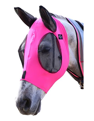 Professional`S Choice Comfort Fit Fly Mask Pink COB