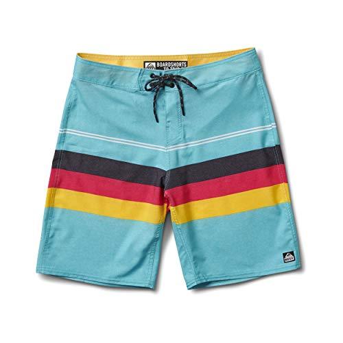 Reef Herren Peeler 3 Shorts, Blau (Aqua AQU), (Herstellergröße:40)