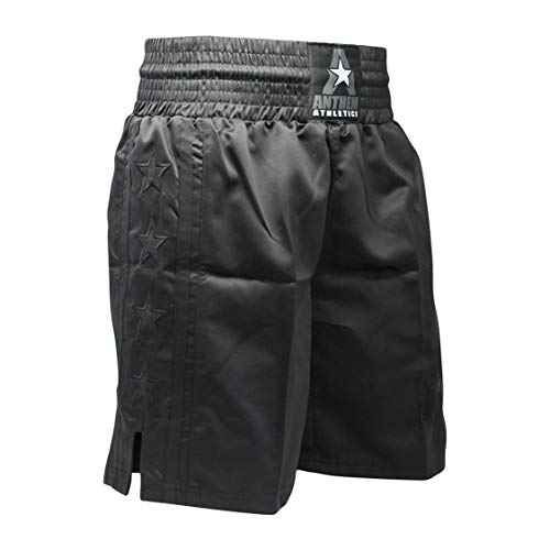 Anthem Athletics Classic Boxing Trunks Shorts - Black - Large