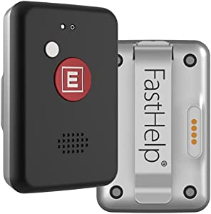 All New FastHelp™ 4G Medical Alert Device - NO Monthly FEES Ever - No Phone Needed - Works Nationwide Where Cell Signal is Available