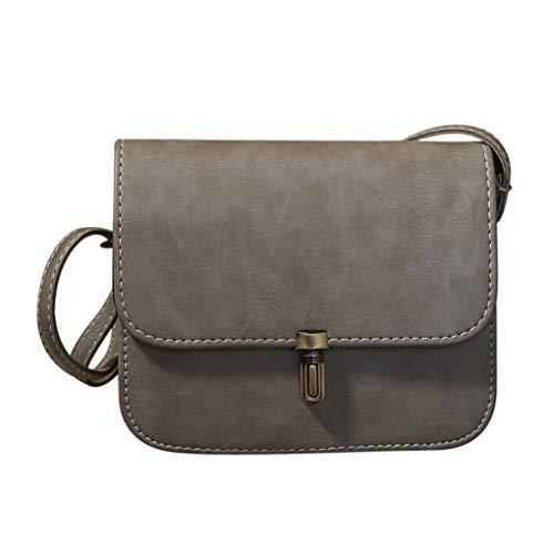 Dorical Damen-Handtasche Damen Umhängetasche 20x6x17cm Handtasche Schultertasche Tragetasche Taschen Handtaschen/Crossbody Schultertasche Mode Handtasche für Frauen(Grau)