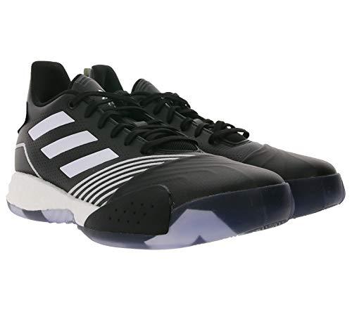 adidas T-Mac Millennium - Zapatillas de baloncesto para hombre, cómodas, deportivas, color negro y blanco, color Negro, talla 42 EU