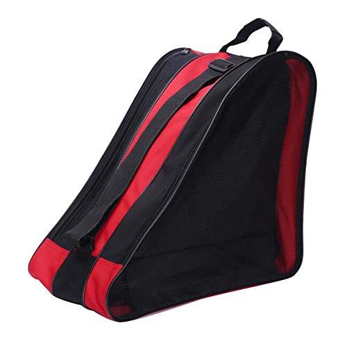 Black Temptation Skate Bag - Tasche, um Schlittschuhe, Rollschuhe, Inline Skates für Kinder/Erwachsene, F zu tragen