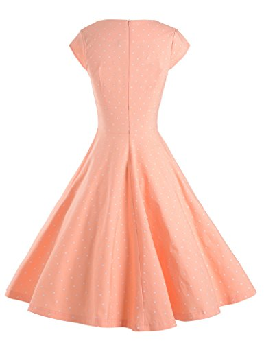 GownTown Womens Dresses Party Dresses 1950s Vintage Dresses Swing Stretchy Dresses