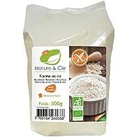 Nature et Cie 231930 harina de cereales Harina de arroz 500 g - Harinas de cereales (Harina de arroz, 500 g, Francia, 355 kcal, 1487 kJ)