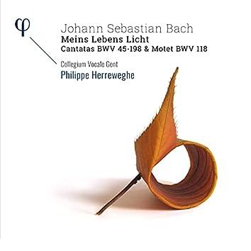 Bach: 'Meins Lebens Licht' Cantatas BWV 45-198 & Motet BWV 118