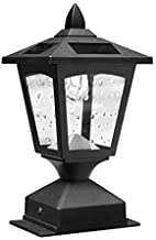 Kanstar Solar Powered Post Cap Light for 4 x 4 Nominal Wood Posts Pathway,Deck (1)