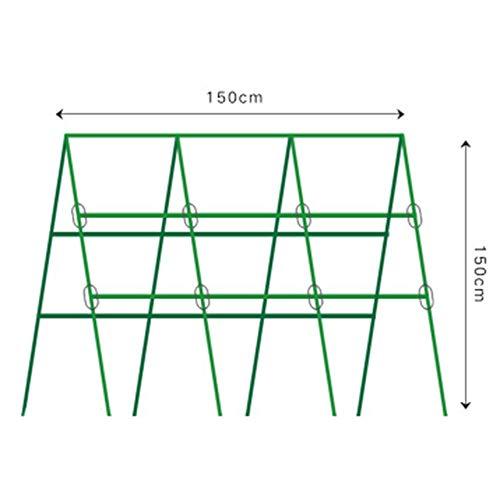 seveni Support de Plante de Jardin Piquet d'escalade Support de bâton de Fleur Canne Outil de Jardinage 90 cm 20 mm(20mm thickF)