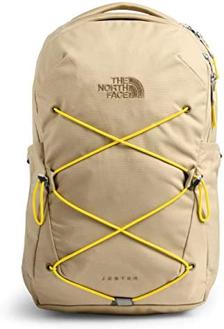 The North Face Women s Jester Backpack Hawthorne Khaki Lightning Yellow One Size product image