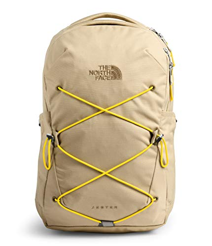 The North Face Women's Jester Backpack, Hawthorne Khaki/Lightning Yellow, One Size