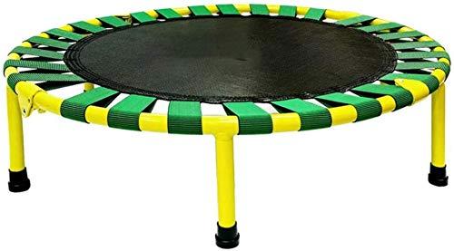 LIiable Fitness Trampoline, Binnenbad Bounce bed met elastisch koord gratis anti-slip mat for Kinderen Trampoline, Trampoline kan ondersteunen 100 kg (L x B x H) 920 × 710 × 220mm