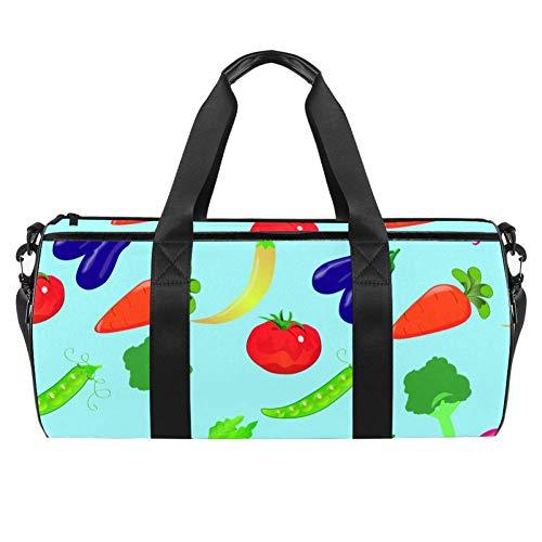 TIZORAX - Bolsa de viaje para gimnasio y verduras, berenjena, tomate, jaula,...