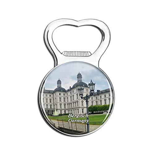 Weekino Bergisch Gladbach Schloss Deutschland Bier Flaschenöffner Kühlschrank Magnet Metall Souvenir Reise Gift