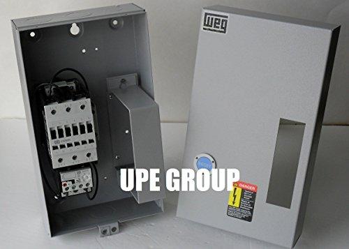 Motor Starter 10hp 1ph 230V magnetic starter control from GE General ELectric 50 amp for air compressor