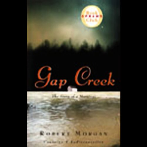 Gap Creek audiobook cover art