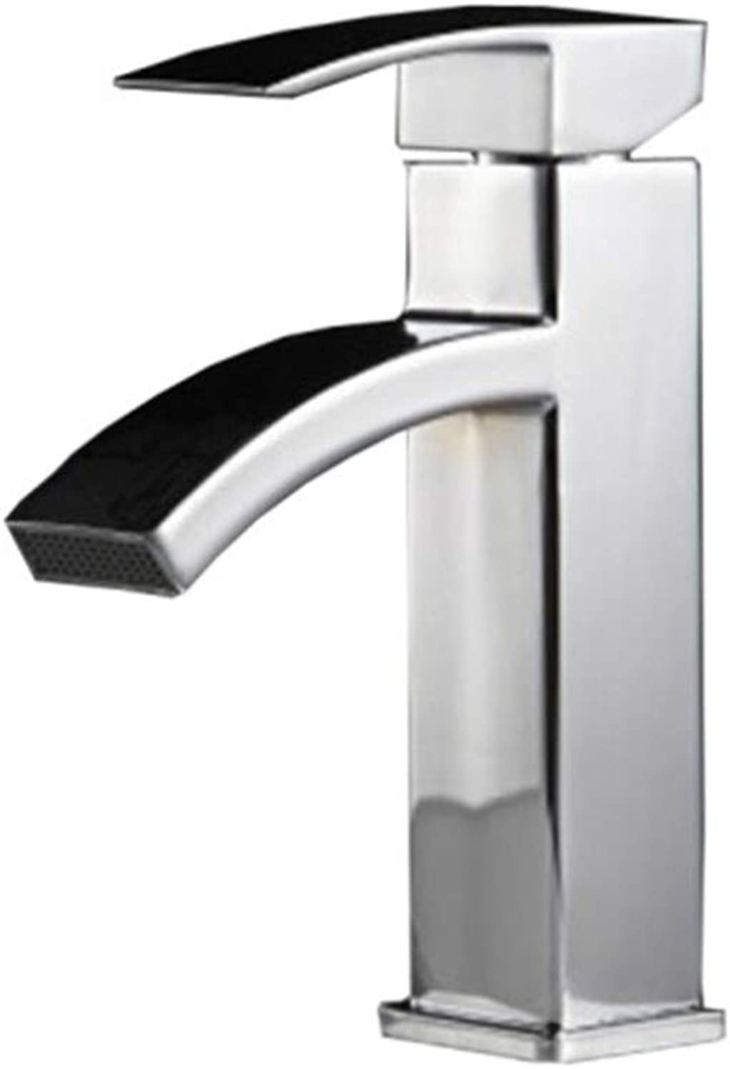Counter Drinking Designer Archbathroom Faucet Hot and Cold Dual Use Single Hole Single Handle Sitting Faucet Waterfall