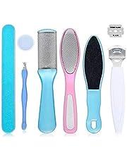 Tony Stark® Foot File Set- Dead Hard Skin Callus Remover, Portable Scraper Pedicure Rasp Tools,Foot Care Tool