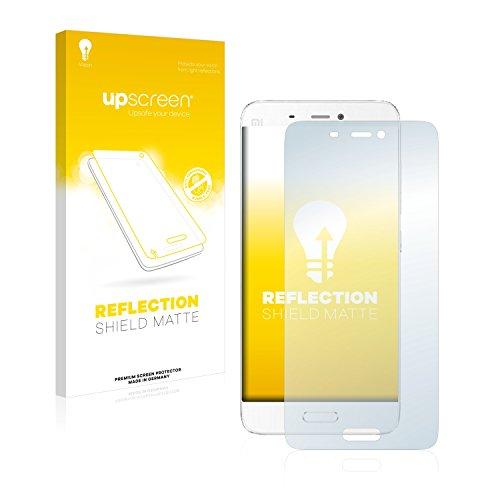 upscreen Entspiegelungs-Schutzfolie kompatibel mit Xiaomi Mi5 – Anti-Reflex Bildschirmschutz-Folie Matt