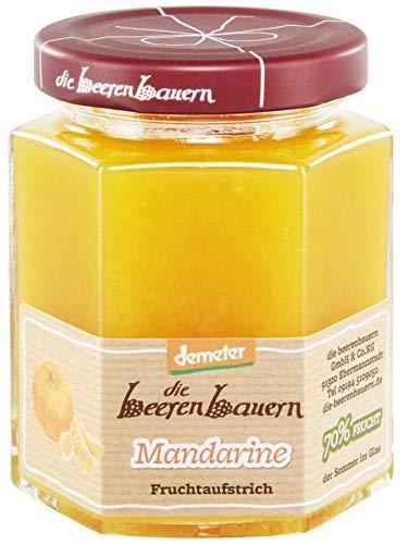 Die Beerenbauern Bio Mandarine Fruchtaufstrich (1 x 200 gr)