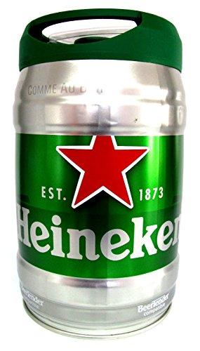 Heineken Bier 5% Vol. Pression Partyfass 5 Liter