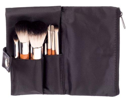 Danielle - 142 - Trousseau Noir Pinceau Maquillage - 7 Pinceaux