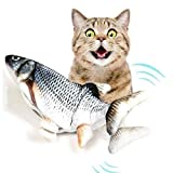 Alpha Paw Electronic Bouncy Realistic Fish Pet Toy for Cats and Dogs
