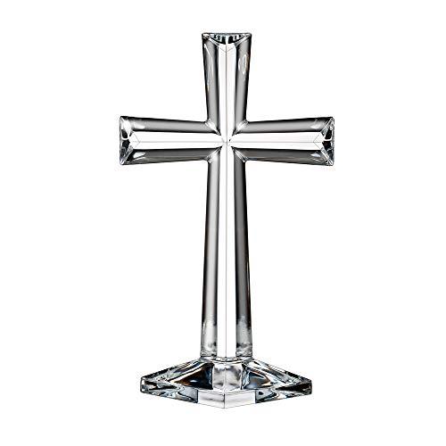 Marquis By Waterford Selah Standing Cross 10''', Clear (1058361)
