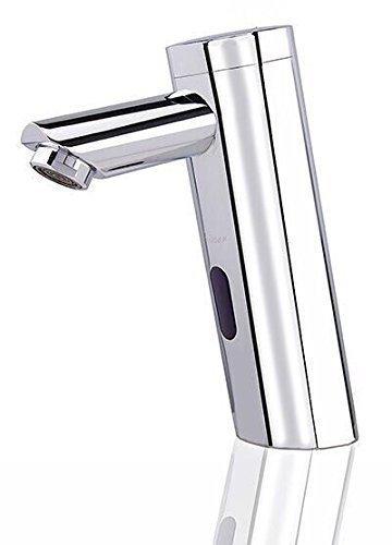 Infrarot Armatur Automatik Wasserhahn IR Kaltwasser Armatur Waschbecken + Gäste WC