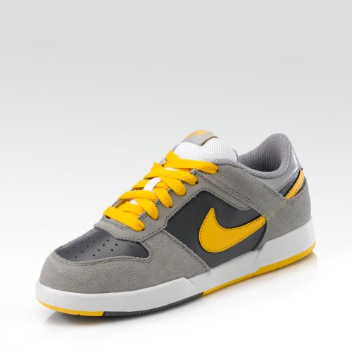Nike Renzo 2 Sneaker - Zapatillas para niño, grey - yellow, 34