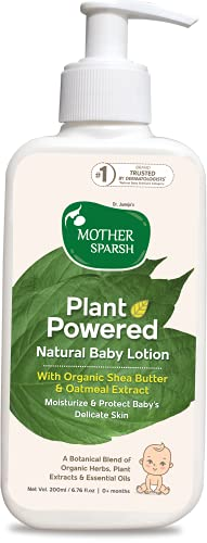 Mother Sparsh Plant Powered Natural Baby Lotion, 200ml