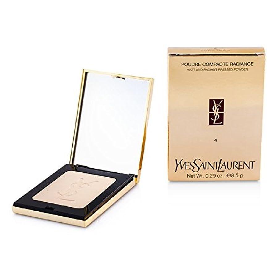 第九皿遅いイヴサンローラン ラディアント マットプレスドパウダー - # 04 ピンクベージュ 8.5g/0.29oz並行輸入品