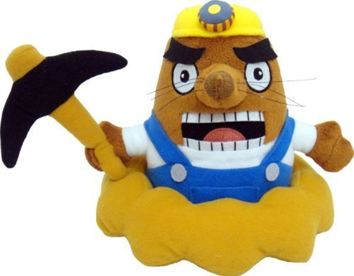 Sanei Animal Crossing New Leaf  Sonny Mr. Resetti 6.5  Plush by Sanei