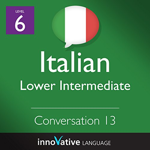 Lower Intermediate Conversation #13 (Italian) cover art