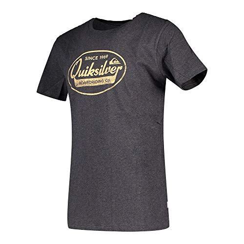 Quiksilver™ What We Do Best - T-Shirt - Homme - Noir (Charcoal Heather), XL
