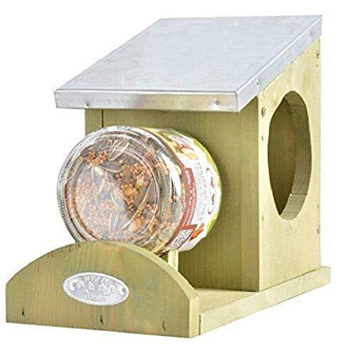Eekhoorn Pindakaas Boter Feeder Houder Voedsel Huis Tuin Dieren