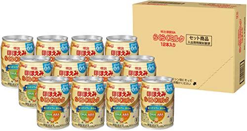 【限定品】明治 ほほえみ らくらくミルク 240ml 常温で飲める液体ミルク 【0ヵ月から】 ×12本
