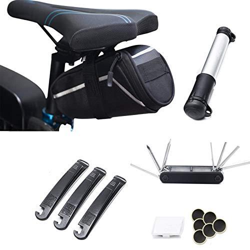 Mocoe Bike Repair Bag - 7 in 1 Multi-Function Bike Tool Kits...