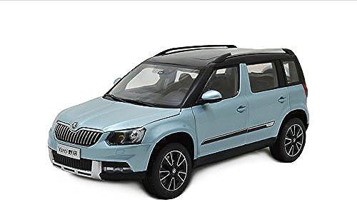 Skoda Yeti 2014 Modell Auto 1 18 Blau Paudi