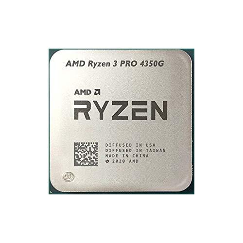 Procesador AMD Ryzen 3 PRO 4350G 7nm 3.8Ghz 4 núcleos 8 hilos solo procesador (bandeja)
