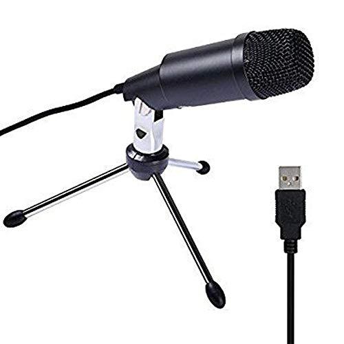 Professionelles Mikrofon, USB-Computer dediziertes Kondensatormikrofon Sprachspiel Konferenz kostenlos Laufwerk bequemes und praktisches Desktop-Mikrofon