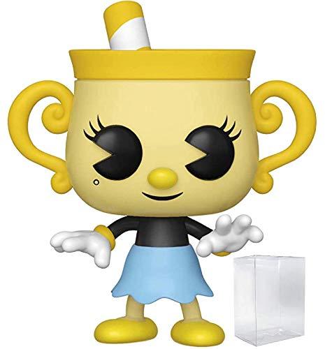 Funko Pop! Games: Cuphead - Ms. Chalice Vinyl Figure (Includes Pop Box Protector Case)